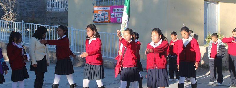Apoyo deportivo a la Escuela primaria Francisco Villa de la colonia La Cuesta.