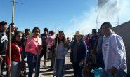 Jornada de limpieza en la comunidad de Las Esperanzas