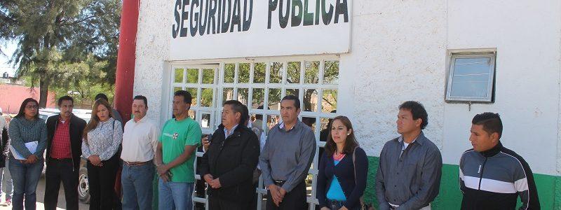 Posesión del nuevo director de Seguridad Publica Municipal.