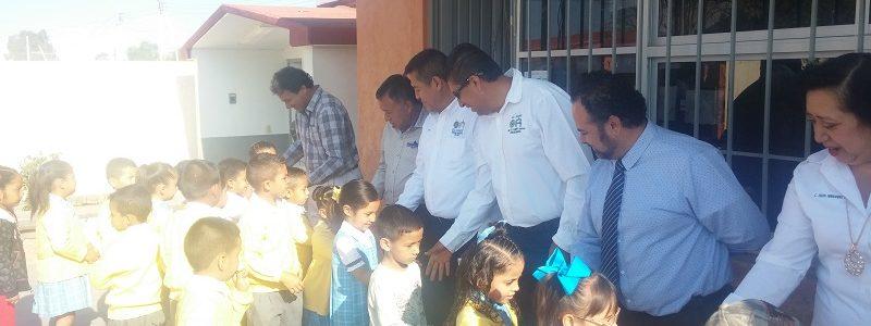 Honores a la bandera Jardín de Niños Gabriela Mistral