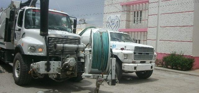 Atención y mantenimiento de la red de drenaje de la cabecera municipal
