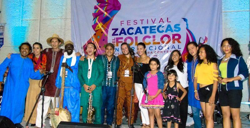 Concluye en Rio Grande el Festival Internacional del Folclor Zacatecas 2017