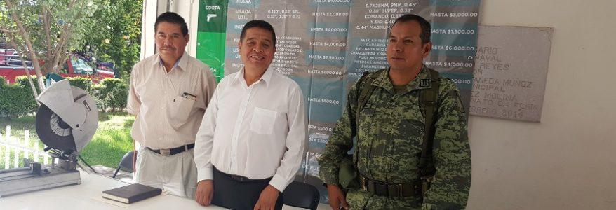 Convoca el R. Ayuntamiento a participar en la Campaña de Canje de Armas de Fuego 2017