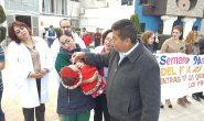 Con un emotivo desfile por las calles de la ciudad arranco formalmente la Primera Semana Nacional de Salud.
