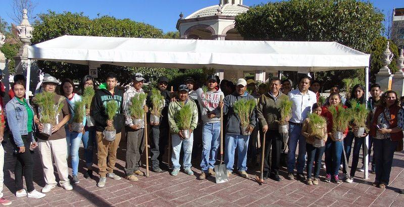 Arranca la campaña de reforestación en la zona conurbada de la ciudad de Rio Grande