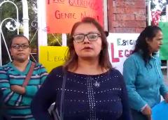 Se manifiesta padres de familia de la Escuela Primaria Francisco Garcia Salinas