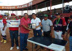EQUIPO VALMOR CAMPEÓN DE LA LIGA MUNICIPAL DE BEISBOL 2019