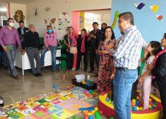 Se inaugura ludoteca familiar en la comunidad de La Luz